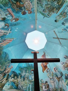 Ceiling paintings of Cebu's past