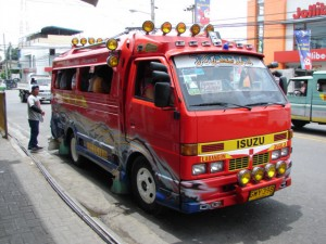 jeepneycebu 300x225 Jeepney in the Philippines