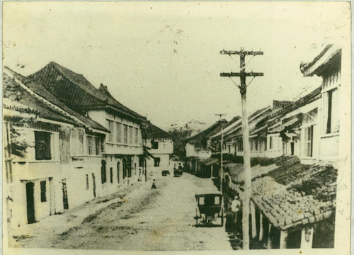 How Colon Street looked in the early 1900s