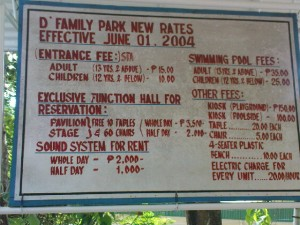 d family park rates 300x225 D Family Park