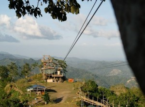 doce pares ziplining 300x222 Zip lining in Cebu: Doce Pares Mountain Training Park