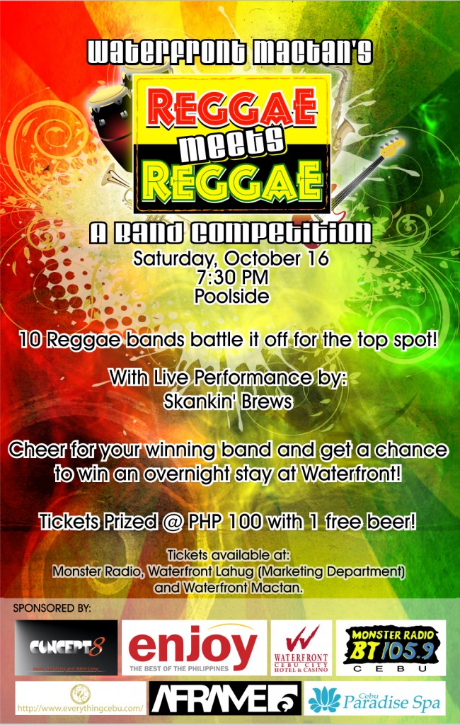 OCTOBERFEST2010 Media Ad SUNSTAR 650x1024 10 Bands Battle It Out on Reggae Meets Reggae
