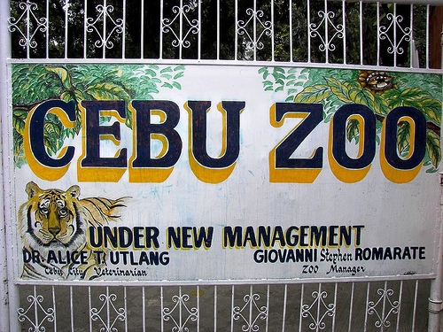 cebu zoo Cebu City Zoo and Conservation Center