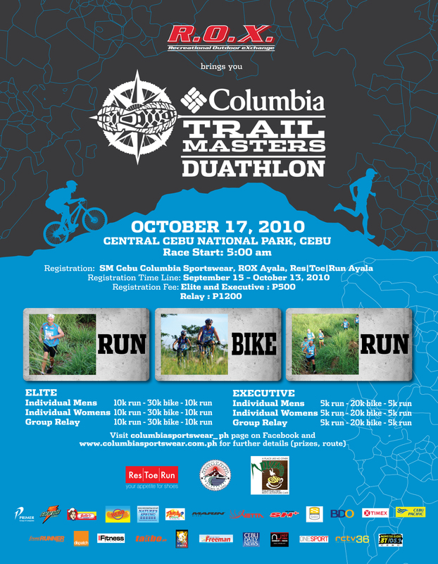trailmasterscebuad Columbia Trail Masters Duathlon