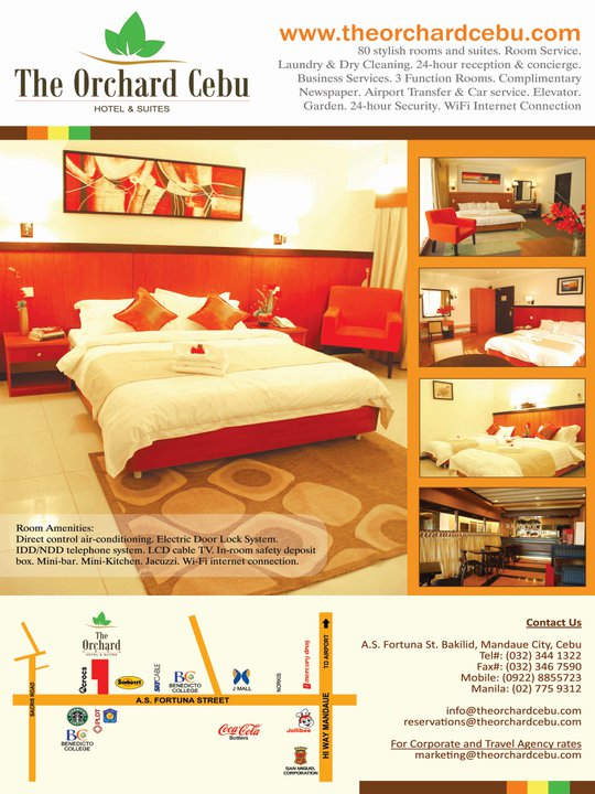 Opened In July 2009 The Orchard Cebu Hotel Suites Is A Contemporary Business Located Corporate Hub Of Mandaue City