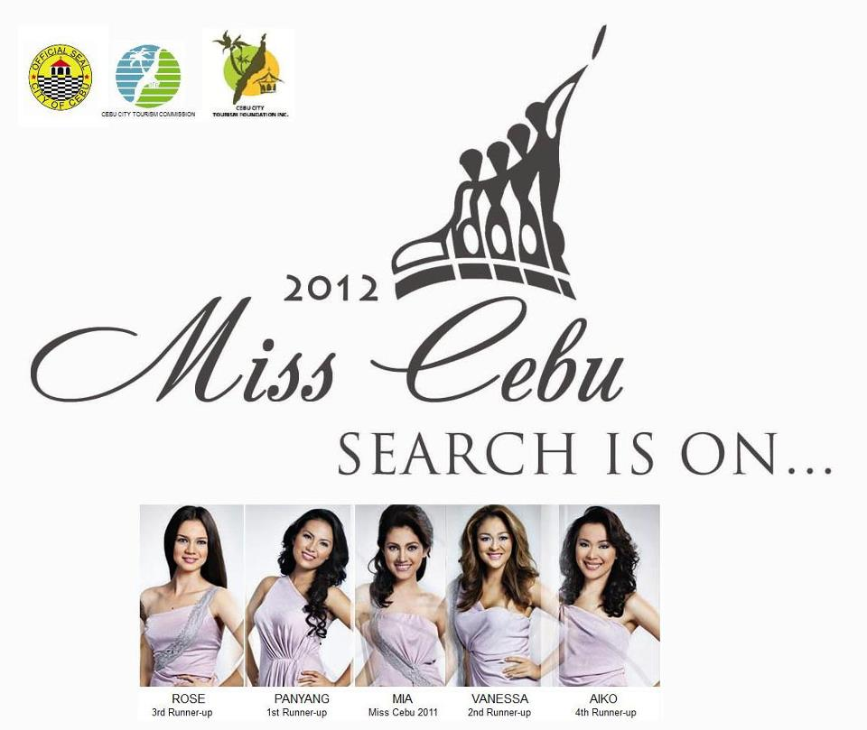 Miss Cebu 2012 logo