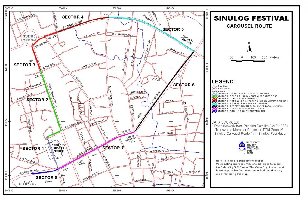 sinulog route 1024x695 Affordable Accommodations along Sinulog Route