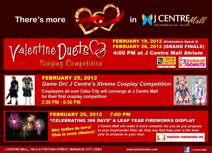 J Centre Mall valentines J Centre Mall