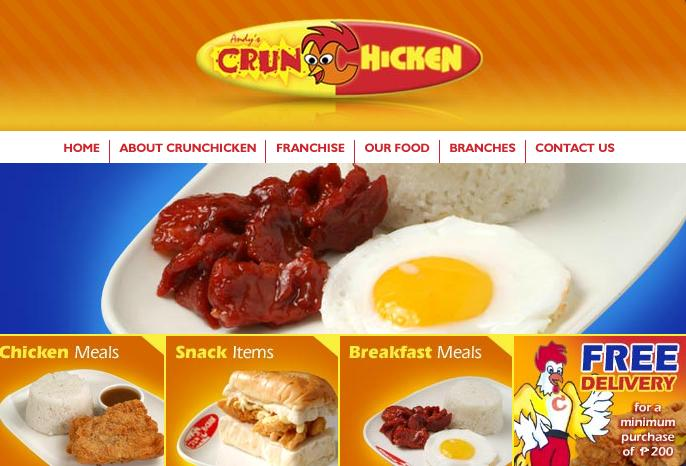 andys Cebuano Fast Food Chains: Andys Crunchicken and MyJoy