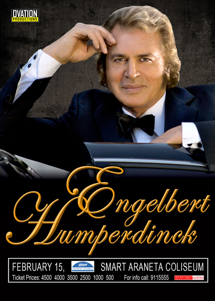 engelbert humperdinck Valentine Concerts for Different Ages
