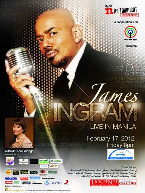 james ingram live Valentine Concerts for Different Ages