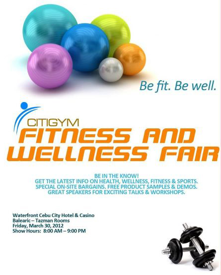 Citigym Fitness and Wellness Fair Citigym Fitness and Wellness Fair