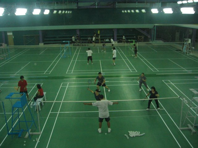 Metro Sport Badminton courts in Cebu