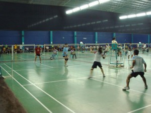Portside Badminton 300x225 Badminton courts in Cebu