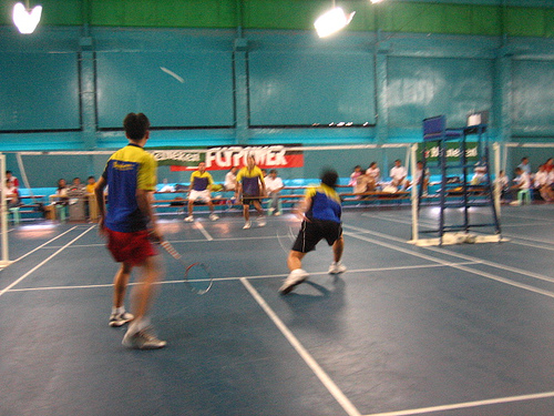 Quickpoints Badminton Club Badminton courts in Cebu