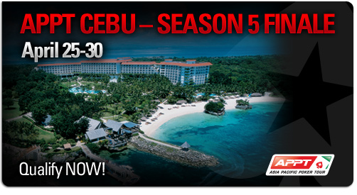 appt qualify header Asia Pacific Poker Tour Cebu