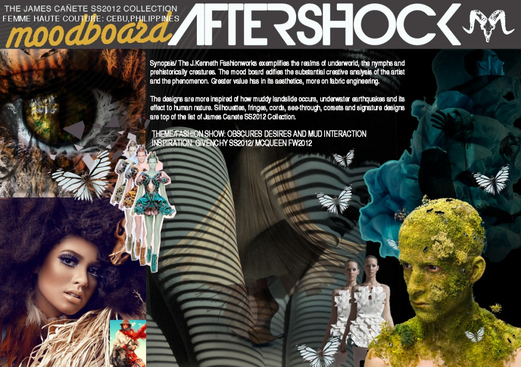 moodboard 1024x723 James Cañete: Aftershock Fashion Show