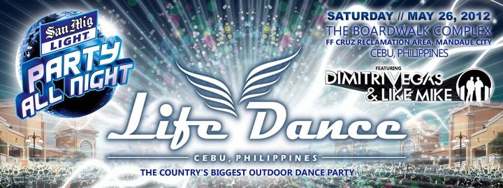 LifeDance 2012 San Mig poster LifeDance 2012