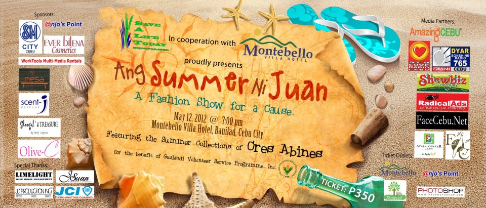 Summer ni Juan Ang Summer ni Juan A Fashion Show for a Cause