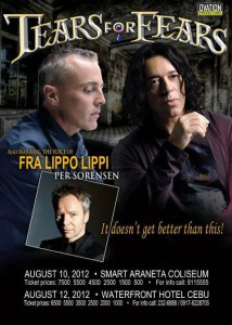 Tears for Fears 214x300 Tears For Fears Philippine Tour