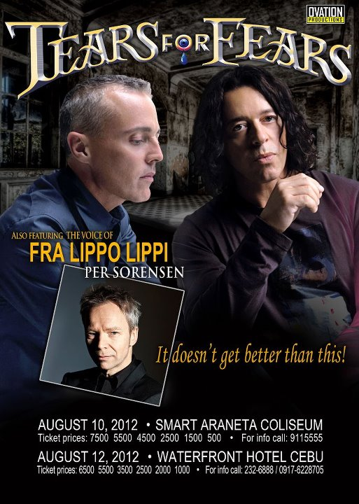 Tears for Fears Per Sorensen Tears for Fears and Per Sørensen at the Waterfront