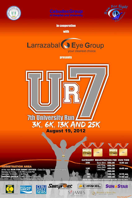 7th Cebu Doctors University Run Marathons in Cebu   August