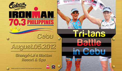 Cobra Ironman Marathons in Cebu   August