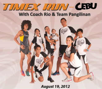Time Run 2012 Marathons in Cebu   August