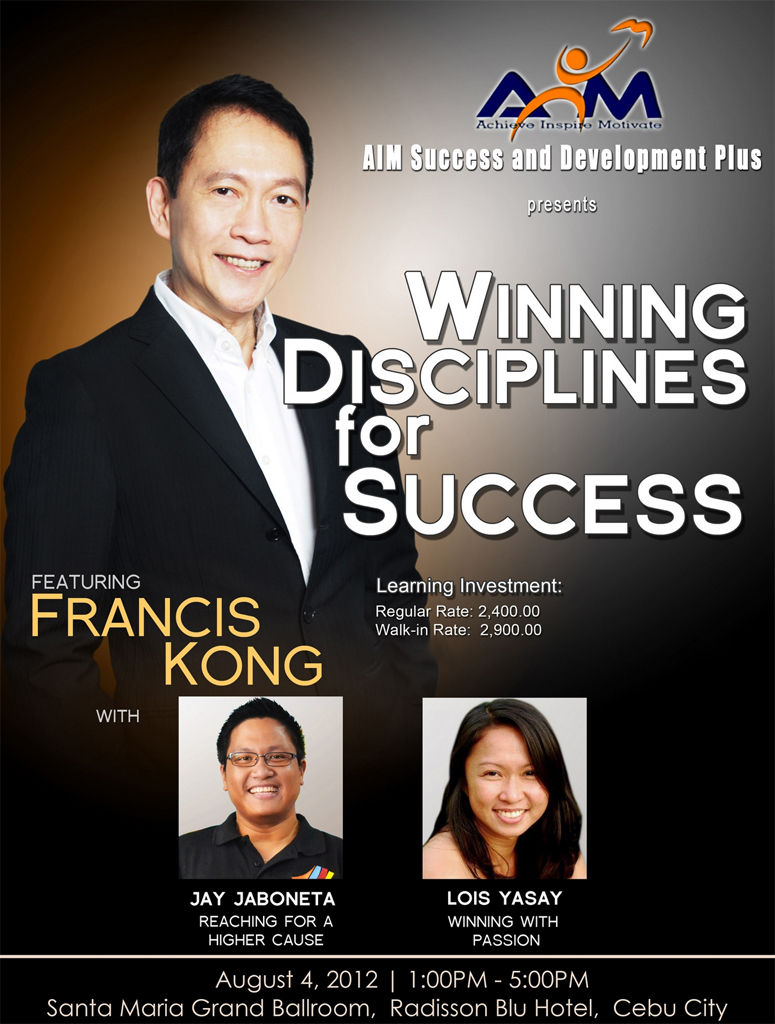 Winning Disciplines for Success