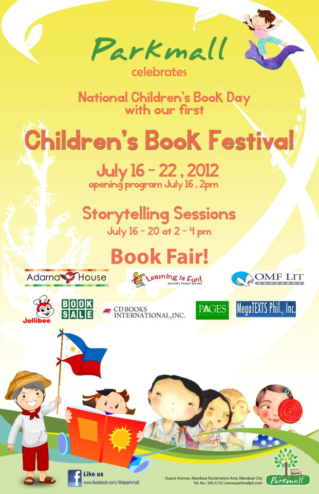 parkmall ncbd Childrens Book Fair at Parkmall
