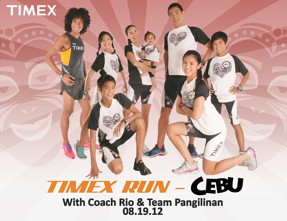 Timex Run Cebu 2012 poster Piolo Pascual Meet and Greet