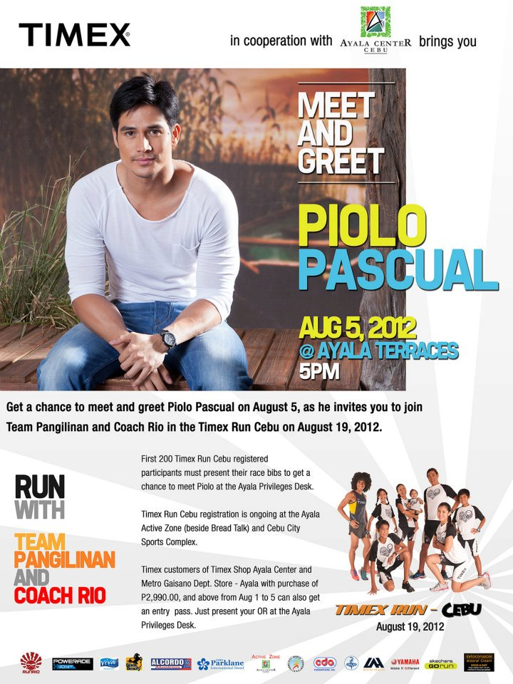 pioloAyala Piolo Pascual Meet and Greet