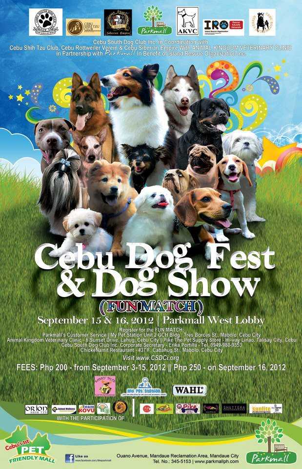 307745 3498836084013 1979652638 n Cebu Dog Fest for a Cause 2012
