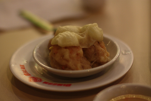 Dimsum Break quail egg siomai