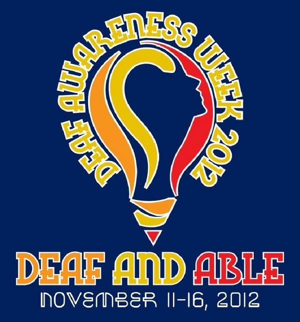 Deaf Awareness Week 2012