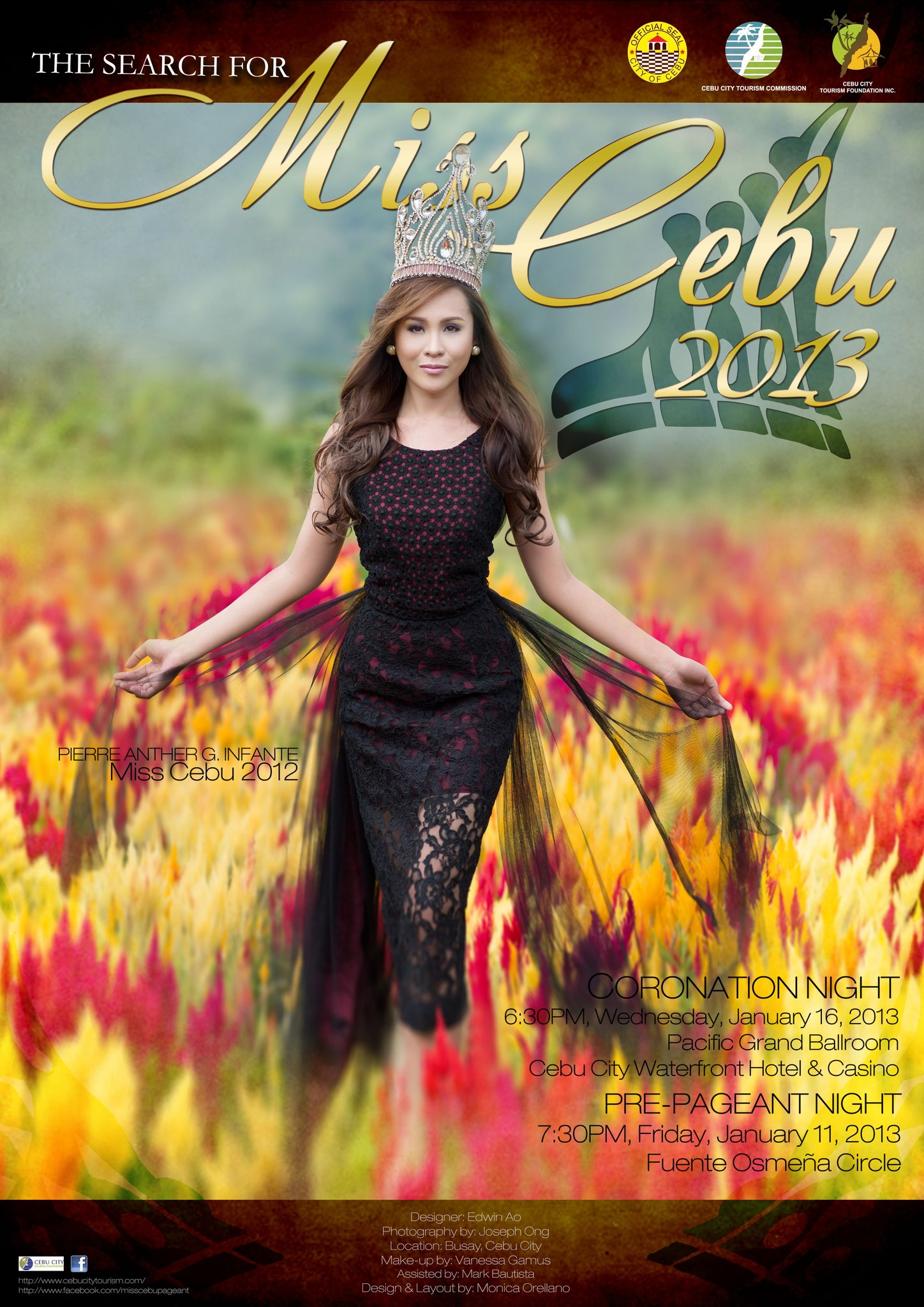 Miss Cebu 2013 poster