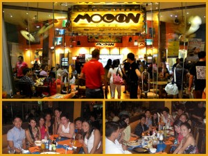 Get Together Celebration with Childhood Friends at Mooon Cafe Ayala