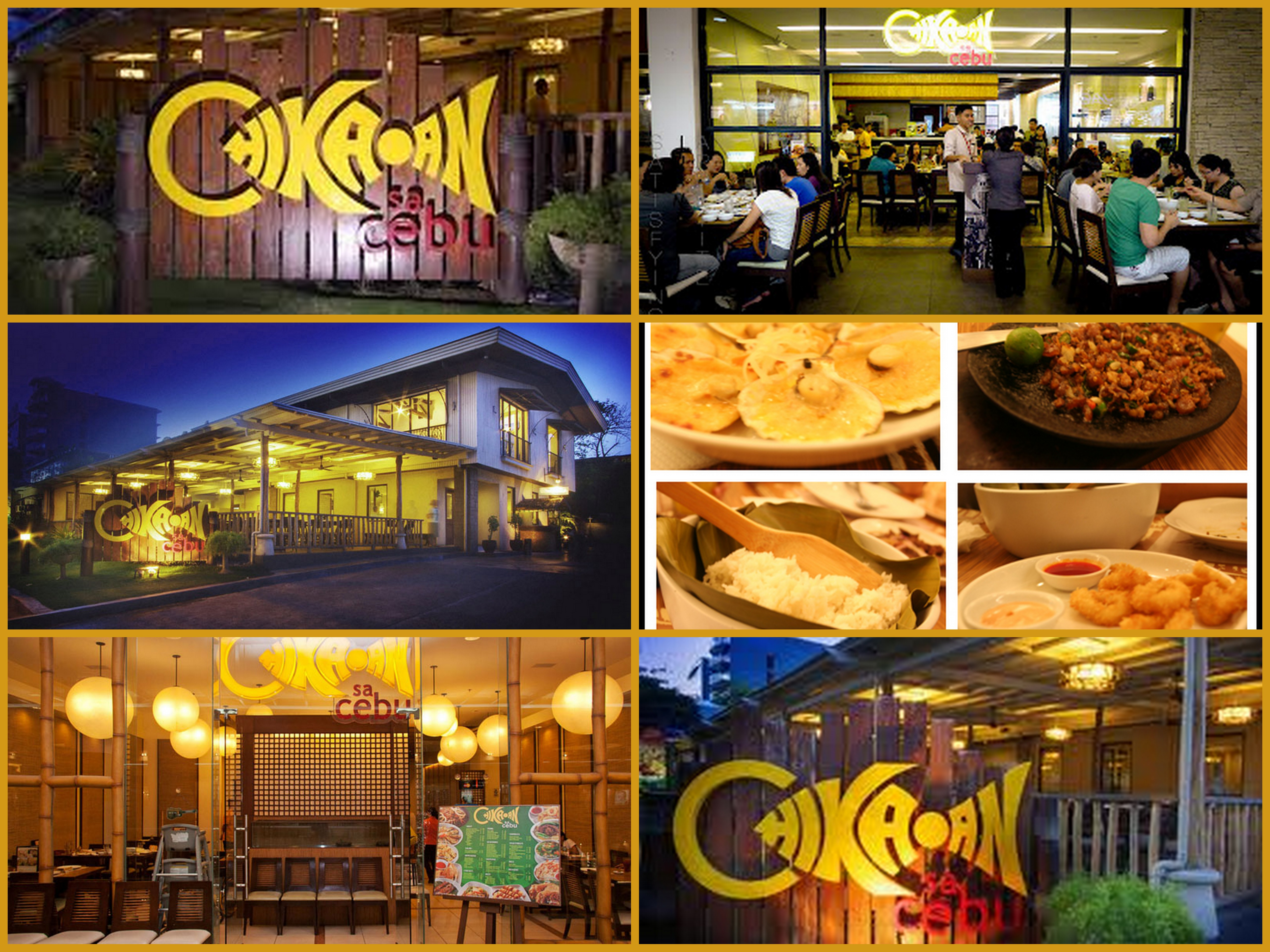 Top 10 restaurants in cebu that will fill your stomach for The restaurant