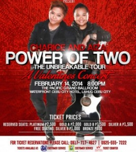 more info about the Power of Two concert here