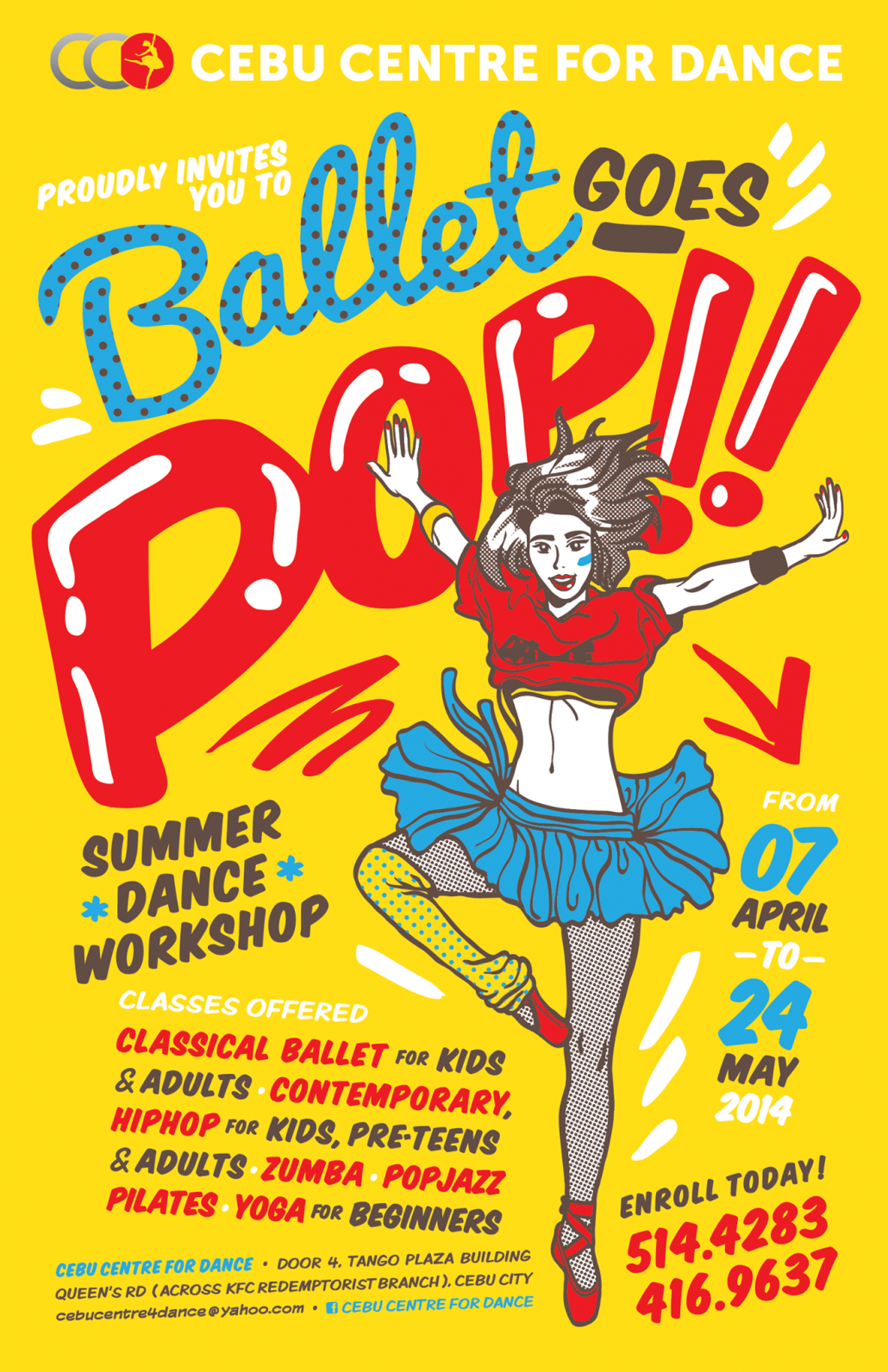 Image Source: Ballet goes pop – https://www.facebook.com/pages/Cebu-Centre-for-Dance/179287935515002
