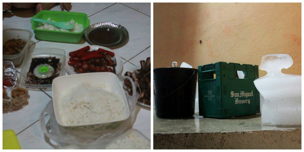 newly grilled food and ice-cold drinks -- definitely a necessity