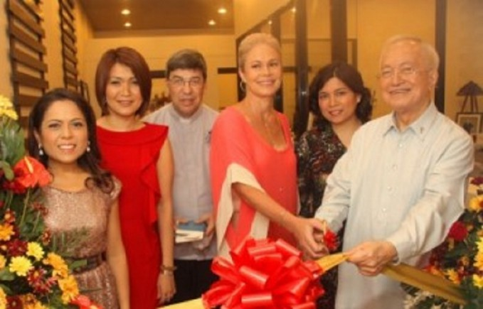 From left: Cohen's Lifestyle Centre CFO Regina Chuavon, President and CEO Barbara CDR Young, Fr. Greg Staab, Tamsin Booth, Cohen's Lifestyle Centre Managing Consultant Dr. Angel Bandola and Fr. Ernesto Javier