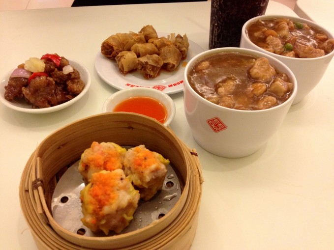 Dimsum Break SM North EDSA Annex Lunch