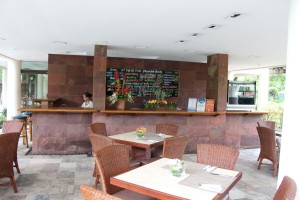 the Amuma Spa Cafe & Juice Bar
