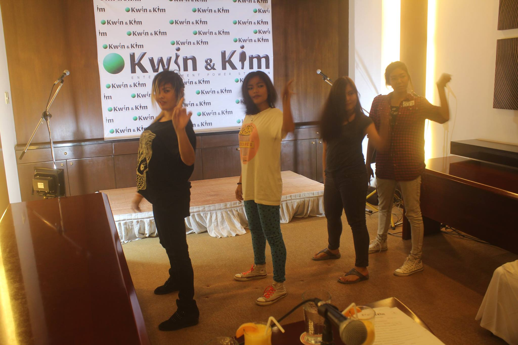 Kwin & Kim Entertainment Power Station Open Auditions