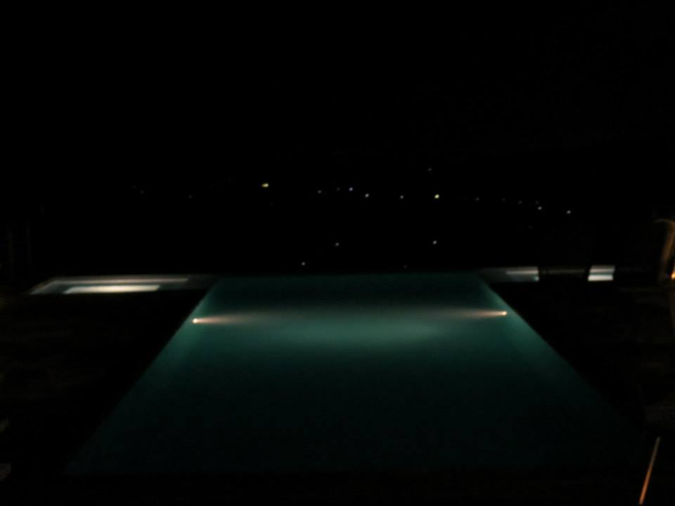 the pool during nighttime.. stunning!