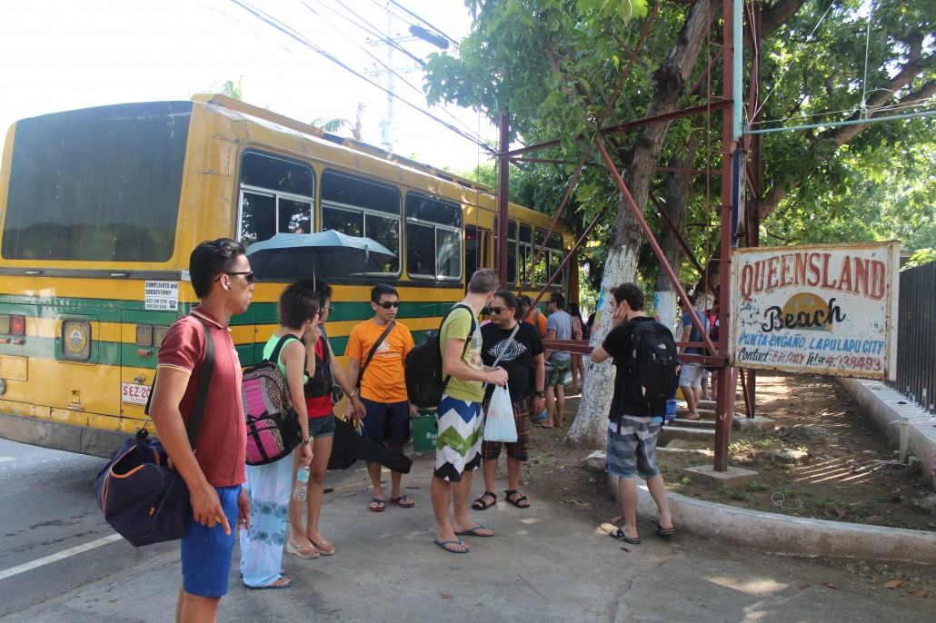 arrival at Queensland Resort in Mactan, where we took off for Pandanon
