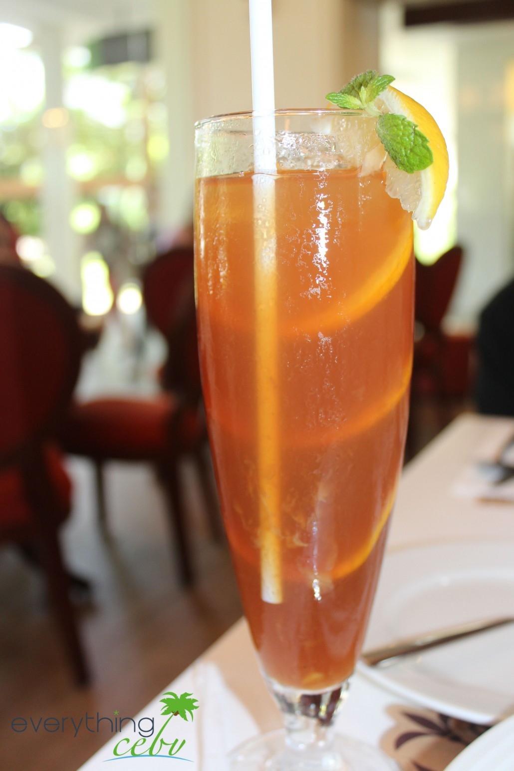 the refreshing Country Iced Tea