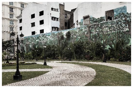 the mural painting in the park (image source: www.tripadvisor.com)