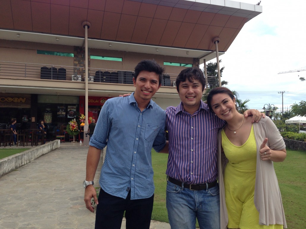 Cebuano owners/operation managers of Kublai Khan; (from left) Jiggy Cañizares, Niko Basubas, and Celeste Rodriguez